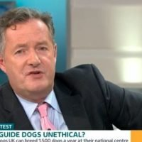 Piers Morgan slams Good Morning Britain guest who wants to ban guide dogs for the blind