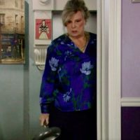 EastEnders salutes Pauline Fowler as Cora Cross takes on Rainie with a frying pan