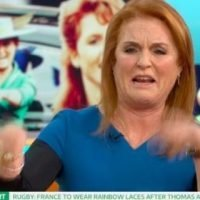 "Sarah Ferguson tells Piers Morgan to ""get a life"" after his cringeworthy question on Good Morning Britain"