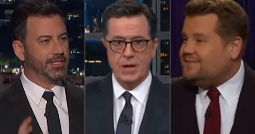 Late-Night Hosts Press Through Trump's Post-Election Outbursts, Firing of Jeff Sessions