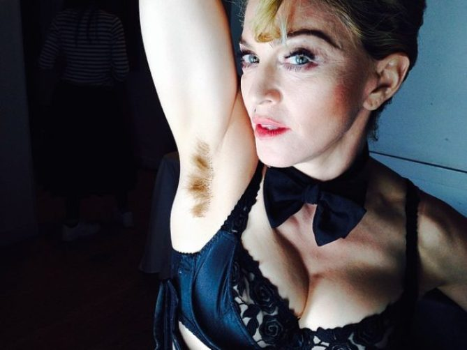 Body Hair, Don't Care! Stars Who Aren't Shy About Showing Off Their Underarm and Leg Hair