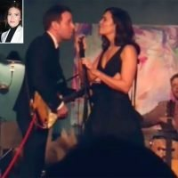 Sealed with a Kiss! Newlyweds Mandy Moore and Taylor Goldsmith Sweetly Sing Wedding Duet at Their Reception