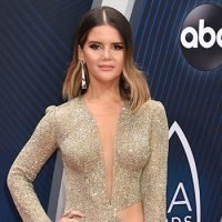 Maren Morris Dazzles In Sexy Gold Cutout Dress At CMA Awards