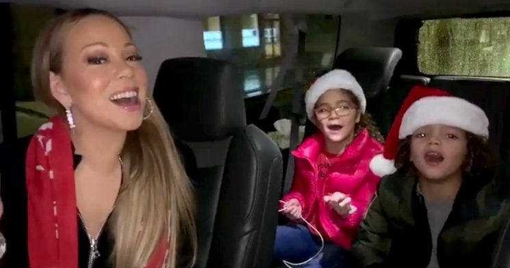 Mariah Carey Mommy-Shamed for Not Seat Belting Her Twins
