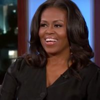 Michelle Obama Jokes That George Clooney Is Her 'Freebie' During Hilarious Chat With Jimmy Kimmel