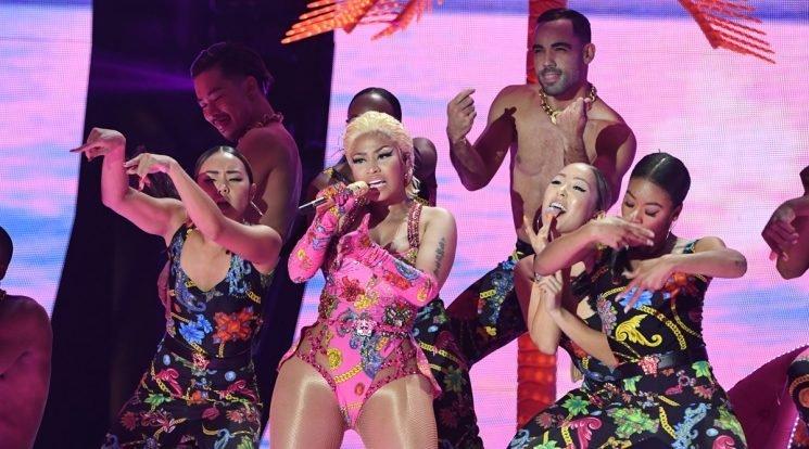 Nicki Minaj Performs at MTV EMAs 2018!