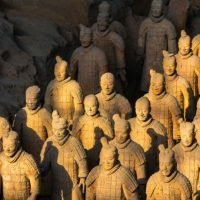 Archaeologists Discover 2,100-Year-Old Miniature Terracotta Warriors Watching Over A Site In China
