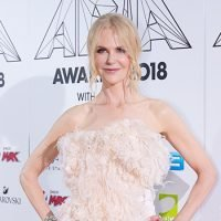 Nicole Kidman Looks Like A Beautiful Bird In Feather & Satin Look — See Wild Outfit