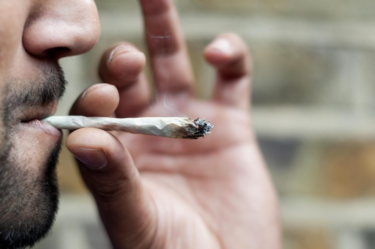 Is it legal to smoke weed at home in the UK and what can you do if neighbours are using cannabis?