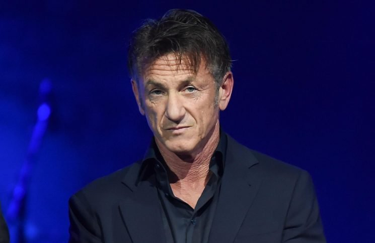 What time does The First start tonight and who is in the cast with Sean Penn?