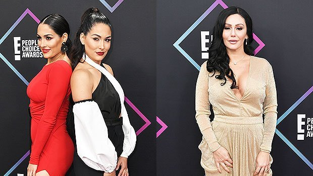 JWoww, Nikki & Brie Bella & More Stars Slay The People's Choice Awards Red Carpet