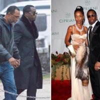 Diddy arrives at funeral home for tragic ex-girlfriend Kim Porter's wake