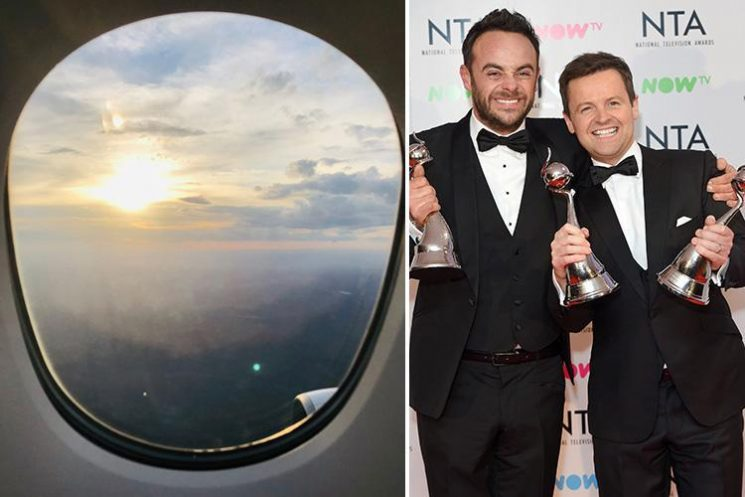 Declan Donnelly reveals he's landed in Australia ahead of I'm A Celeb launch