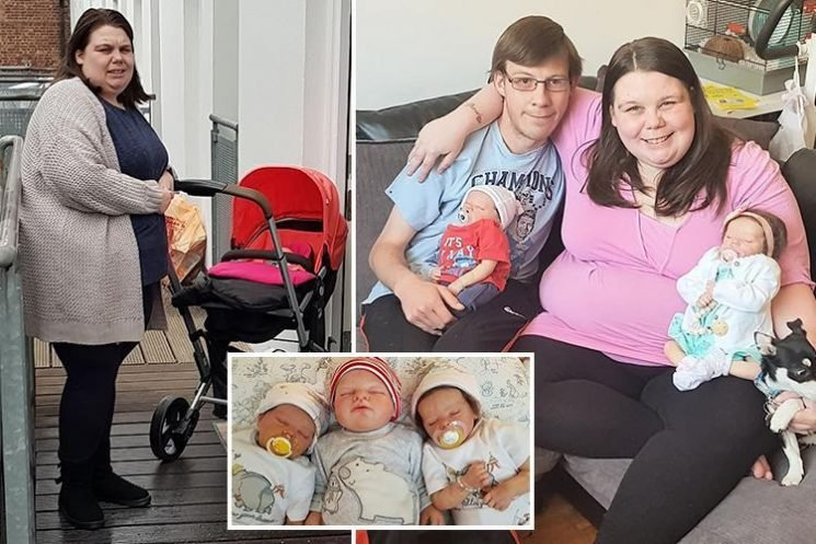 Jobless woman who spent £1,500 on three lifelike dolls takes them everywhere – and even rows with other parents over pram space In