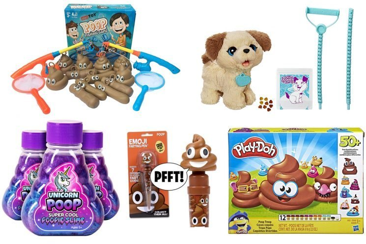 No. 2 Gifts for Your No. 1! The Funniest Poop-Themed Toys for the Little Prankster on Your List