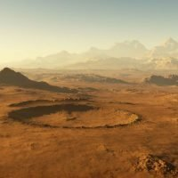 Scientists Have Discovered The Remains Of Three Ancient Lakes On Mars, With One Stretching 50 Miles Across