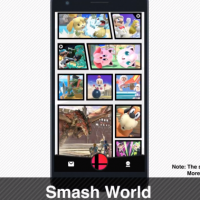 Nintendo Reveals 'Smash World' Smartphone App for 'Super Smash Bros. Ultimate'
