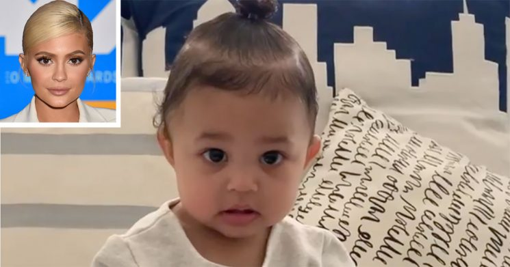 Kylie Jenner Is Trying to Teach Daughter to Say 'Kylie Cosmetics' — But She's Stuck on 'Dada'