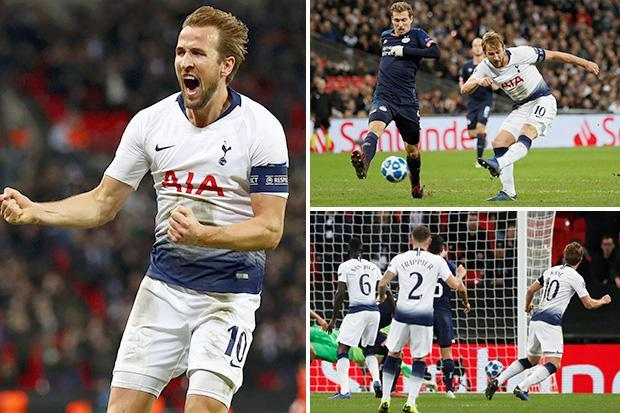 Tottenham 2 PSV 1: Harry Kane nets late brace as Spurs cling onto Champions League hopes