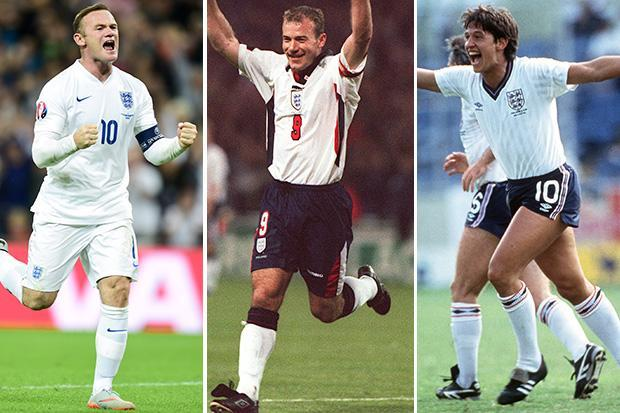 Wayne Rooney gets Gareth Southgate's vote – but who is England's greatest striker of all time?