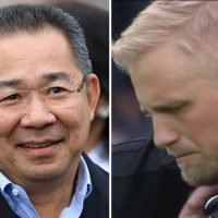 Leicester inspired to honour owner Vichai Srivaddhanaprabha turned Cardiff trip into cup final, reveals tearful Kasper Schmeichel