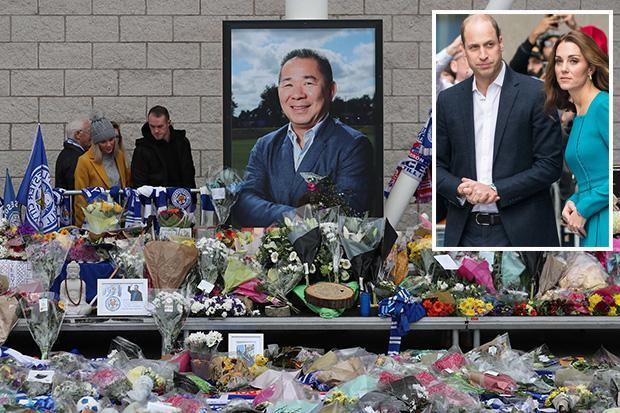 Prince William and Kate Middleton to meet grieving Leicester stars after being personally struck by Vichai Srivaddhanaprabha's death