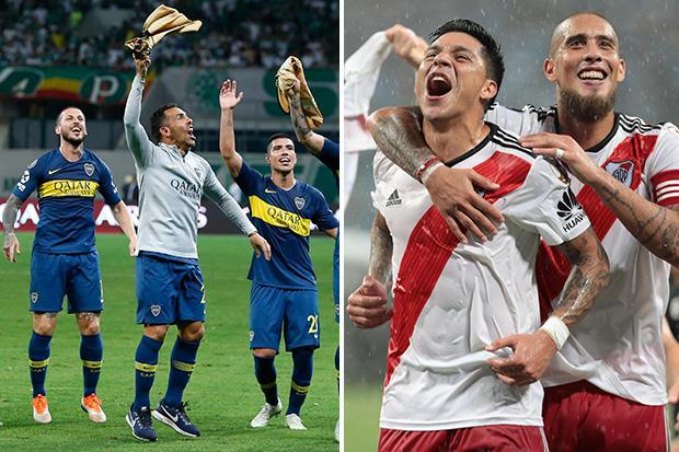 Copa Libertadores final dates confirmed for mouthwatering River Plate vs Boca Juniors clash that will see fierce Argentinian rivals go head-to-head