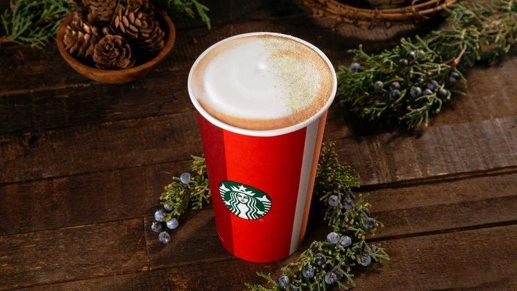 Starbucks' New Holiday Drink Tastes Like a Tree