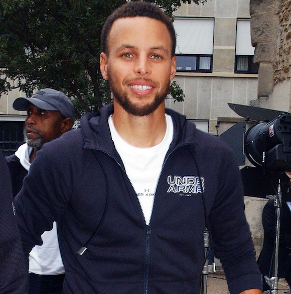 NBA Star Stephen Curry Involved In Multi-Car Crash — Appears Unhurt, Per Early Reports