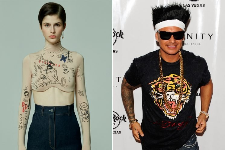 Eat your heart out, Ed Hardy: See the new tattoo fashion trend