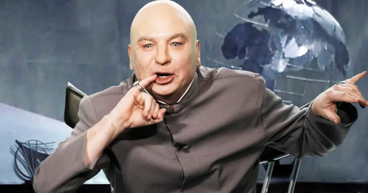 Dr. Evil Slams Don Jr. and Brett Kavanaugh in Midterm Campaign Message on 'Tonight Show'