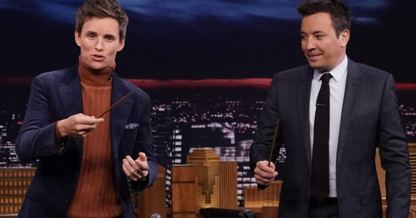 'Fantastic Beasts' Star Eddie Redmayne Proves He Really Does Know Magic on 'The Tonight Show'