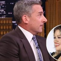 Steve Carell Scared to Meet Kelly Clarkson, Worried She Was Mad Over '40-Year Old Virgin' Shout Out