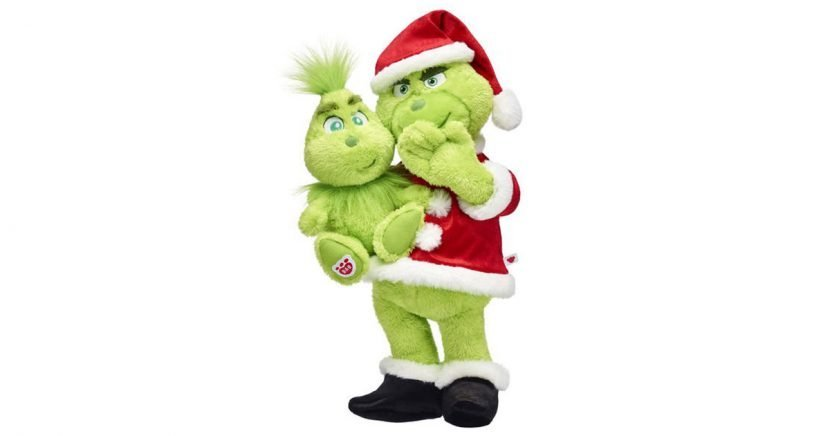 Cuddly as a Cactus! Build-A-Bear Introduces a Grinch Plush Just in Time for the Holiday Season