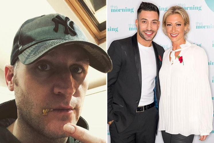 Faye Tozer's husband Michael Smith mocks her Strictly dance partner Giovanni Pernice over those boozy lunch pics