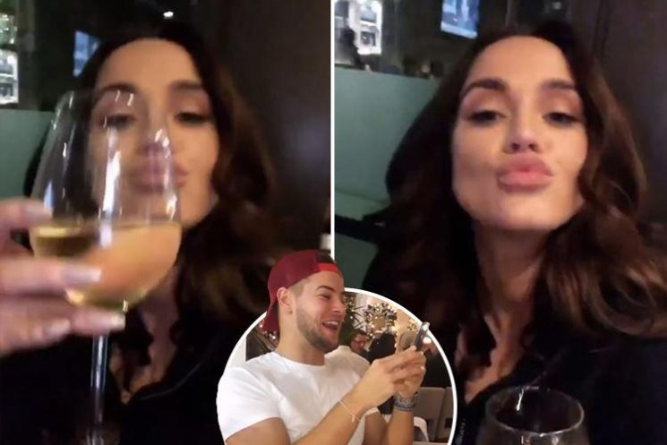Vicky Pattison parties with Chris Hughes and pals after split from fiancé John Noble