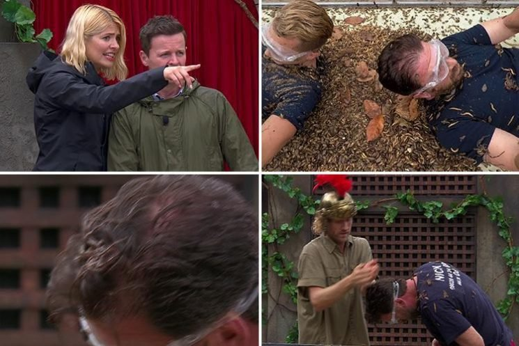 I'm A Celeb fans horrified as HUGE spider crawls over Nick Knowles' head in nightmare Bushtucker Trial