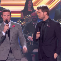 Michael Buble thrills fans as he DENIES he's retiring after incredible X Factor performance