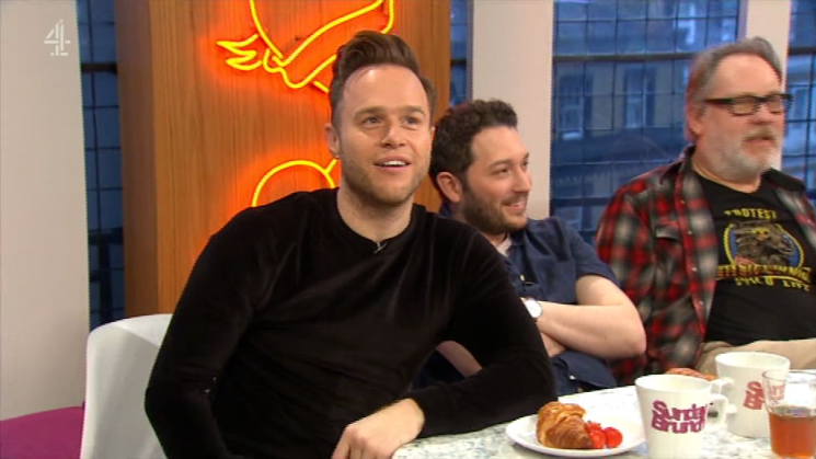 Olly Murs REJECTED by American pop star Bebe Rexha on Sunday Brunch after she revealed she wants a 'cute, single, English guy'