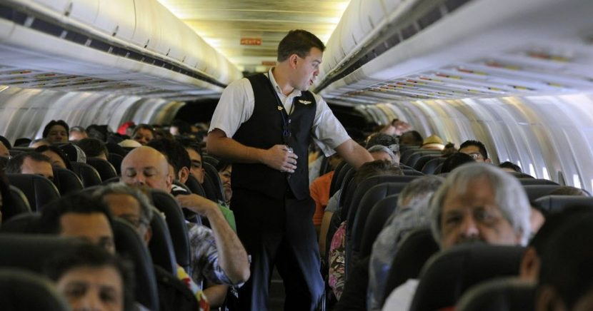 'World's funniest' flight attendant turns safety announcement into a comedy show