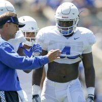 Kentucky linebacker Josh Paschal poised for return from cancer treatments for season's final home game