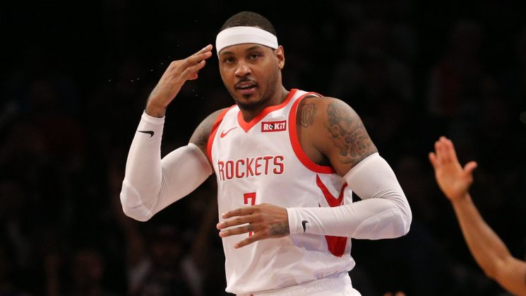 Carmelo Anthony: Four potential landing spots after parting ways with Rockets