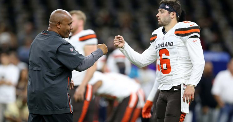 Ian Eagle: Cleveland Browns under Hue Jackson were 'complete disorganized chaos'