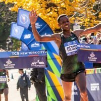 Lelisa Desisa Wins the New York City Marathon in the Last Miles