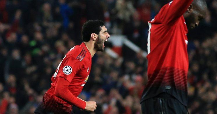 Champions League: Fellaini's Late Goal Helps Manchester United Advance