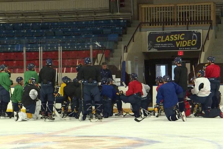 Queen's Gaels rookie off to a torrid start in OUA men's hockey