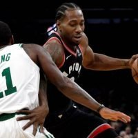 Kyrie Irving leads Boston Celtics to 123-116 win over Toronto Raptors in OT