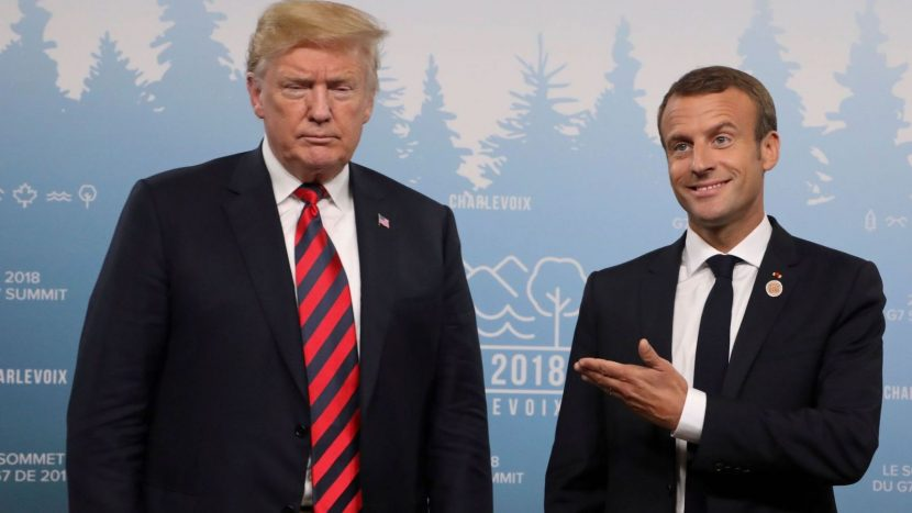 Donald Trump hits out at Emmanuel Macron's 'very insulting' call for EU army
