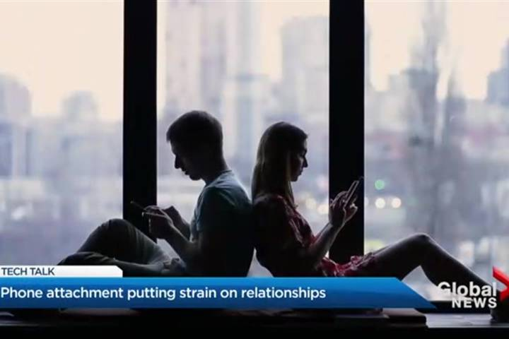 Is your smartphone becoming the virtual third wheel in your relationship?
