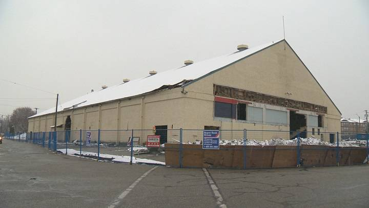 Vernon Civic Arena being demolished; 80 years of sports history comes to an end